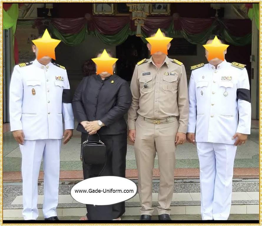 ชุดปกติขาว-ชุดข้าราชการสีกากี-ผู้ชาย-2