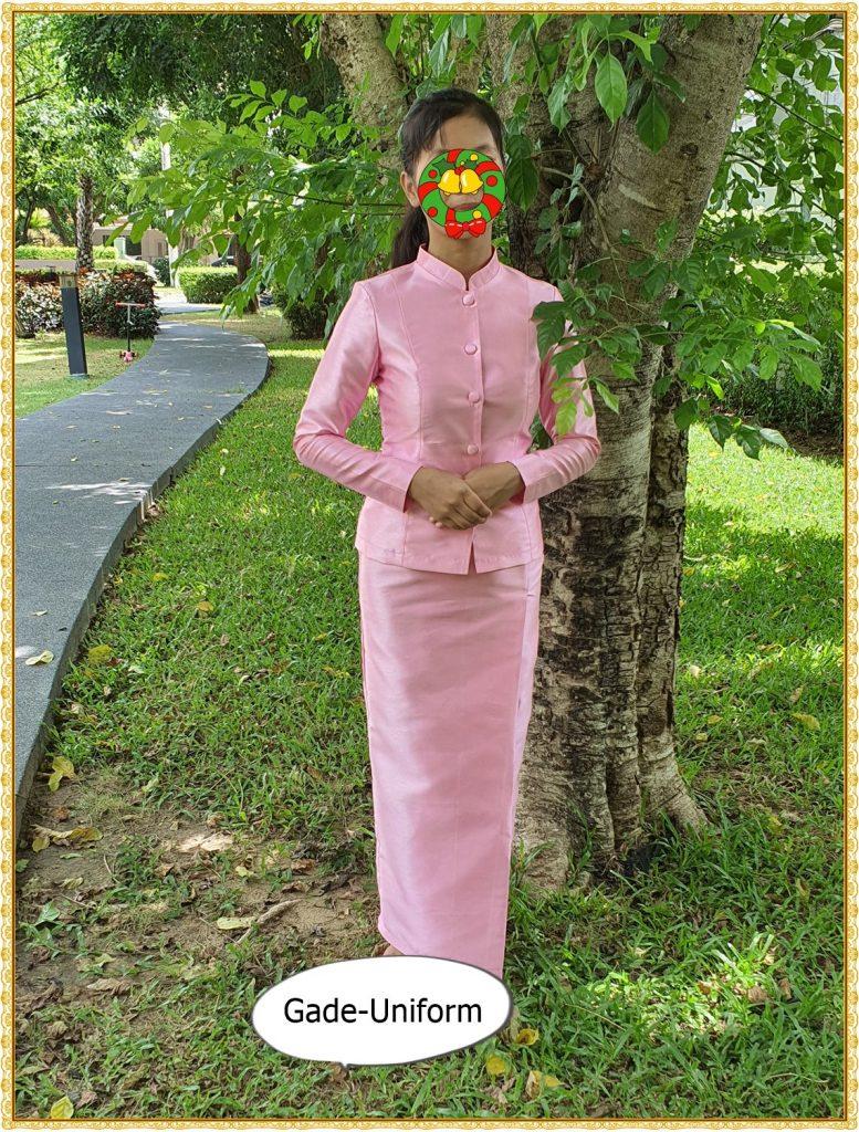 ชุดไทยจิตรลดาสีชมพู-2