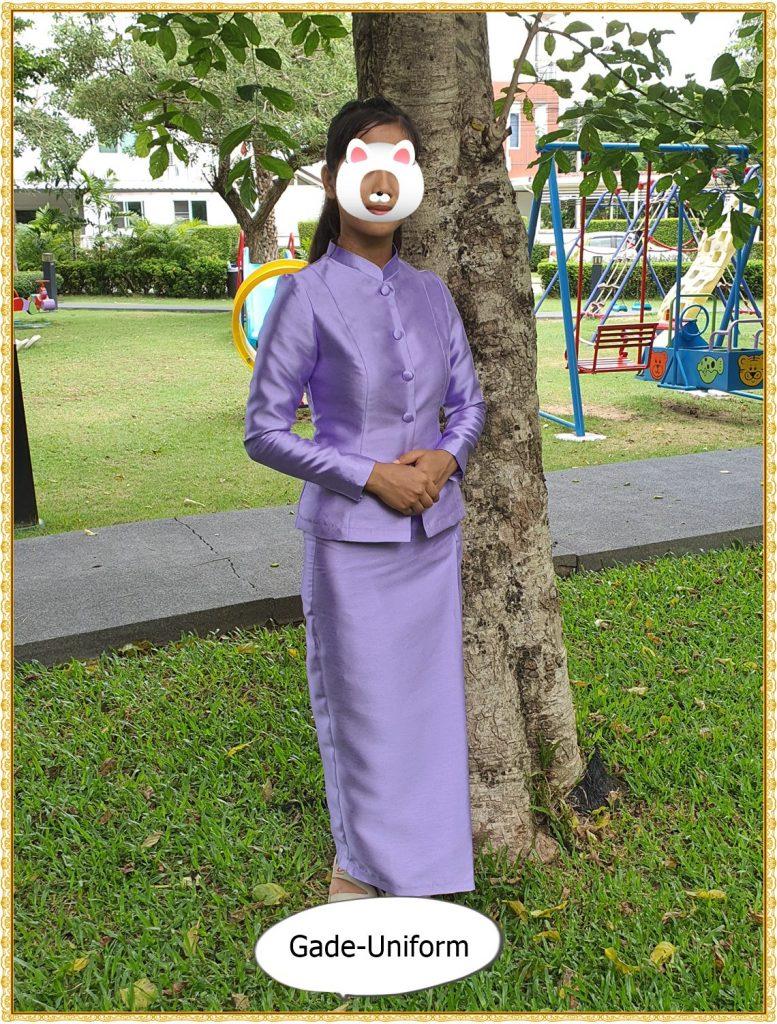 ชุดไทยจิตรลดาสีม่วง-2